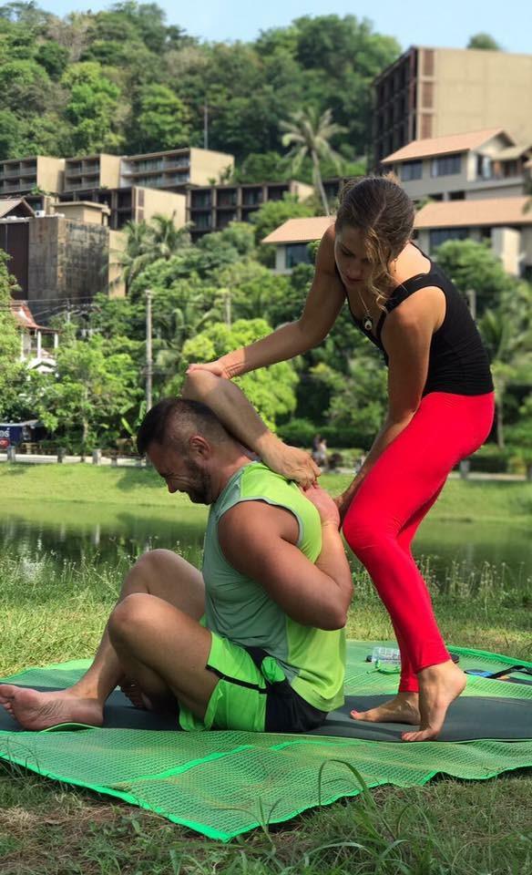 Индивидуальный тренер по йоге