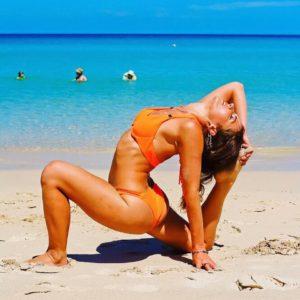 Веронтка Тулаева тренер по йоге