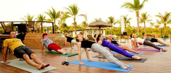 Yoga group class 3