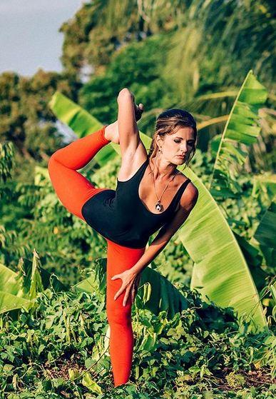 Вероника Тулаева Йога 23 Yoga23 Интенсив  в Греции
